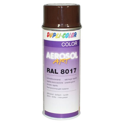 Dupli-Color Lackspray Aerosol-Art RAL 8017 Schokobraun 400 ml
