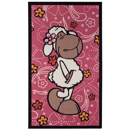 nici kinder teppich jolly rosa 100 cm x 150 cm kaufen bei obi. Black Bedroom Furniture Sets. Home Design Ideas