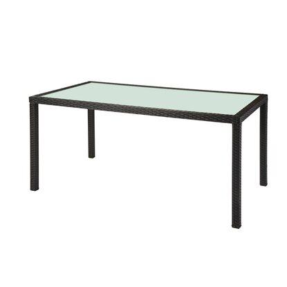 obi tisch davenport schwarz 160 x 90 cm kaufen bei obi. Black Bedroom Furniture Sets. Home Design Ideas