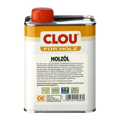 Clou Holzöl Transparent 750 ml