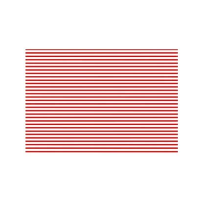 d-c-fix Tischset Stripes Rot 30 cm x 45 cm