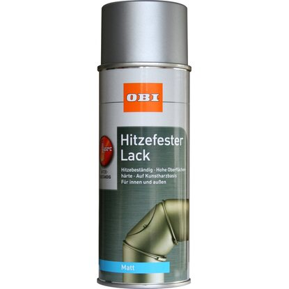 OBI Hitzefester Lack Spray Silber matt 400 ml