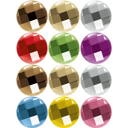 Eurographics Memoboard-Magnetset Diamond Magnets 11,5 cm x 20,5 cm