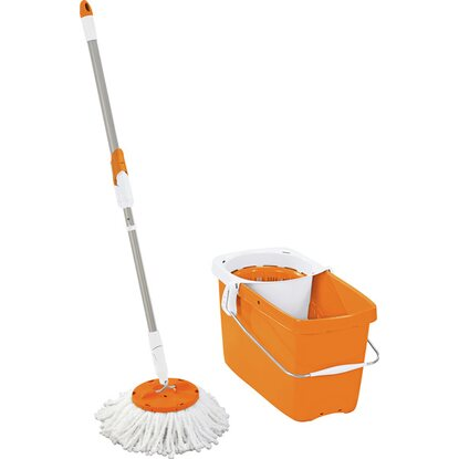 Leifheit Set Clean Twist Mop Orange
