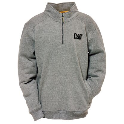 Cat Pullover Quarter Dunkelgrau XL
