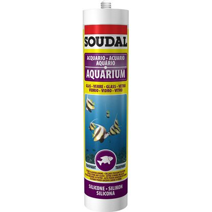 Aquariumsilikon Transparent 300 ml