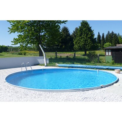 Summer Fun Stahlwand Pool-Set Baltimore Einbaubecken Ø 420 cm x 150 cm