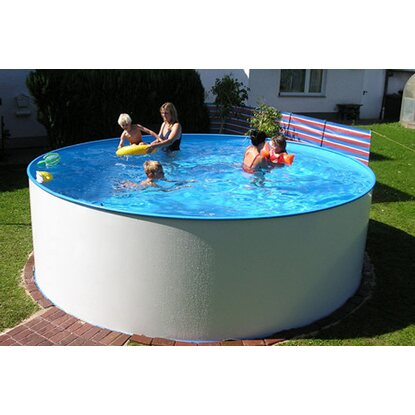 Summer Fun Stahlwand Pool-Set Miami Aufstellbecken Ø 300 cm x 120 cm