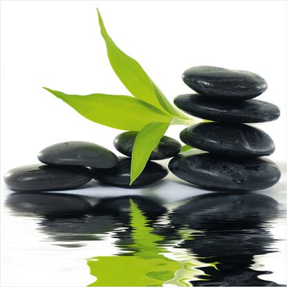 Eurographics Deco Glass Zen Impression 30 cm x 30 cm