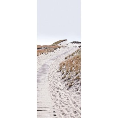 Eurographics Deco Glass Trail In The Dunes 80 cm x 30 cm
