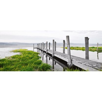Eurographics Deco Glass Idyllic Jetty 125 cm x 50 cm