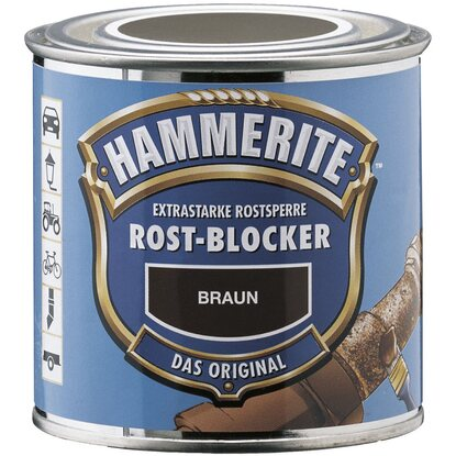 Hammerite Rost-Blocker Braun matt 250 ml