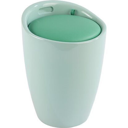 Wenko Hocker Candy Mint 50,5 cm x 36 cm x 36 cm