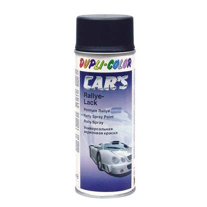 Dupli-Color Lackspray Cars Schwarz Matt 400 ml