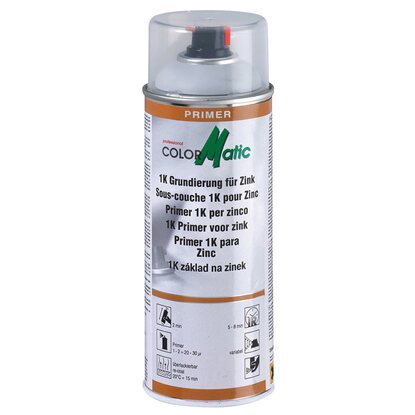 ColorMatic Lackspray 1K Grundierung Zink 400 ml