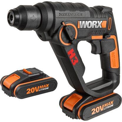 Worx Akku Bohrhammer : worx akku bohrhammer 3 in 1 20 v wx390 1 kaufen bei obi ~ Orissabook.com Haus und Dekorationen