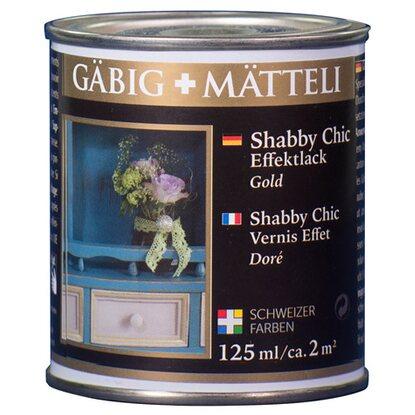 g big m tteli shabby chic effektlack gold gl nzend 125 ml. Black Bedroom Furniture Sets. Home Design Ideas