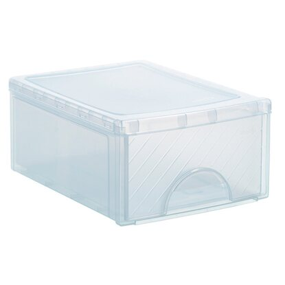 Frontbox mit 1 Schublade Transparent