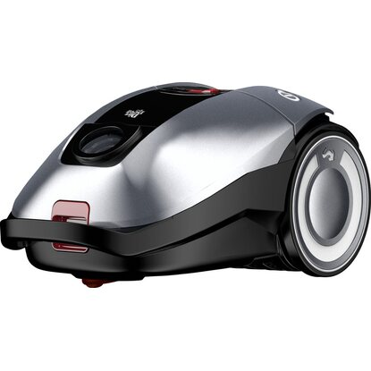 Dirt Devil Bodenstaubsauger Rebel 75HF EEK: A 700 Watt Metal Grey