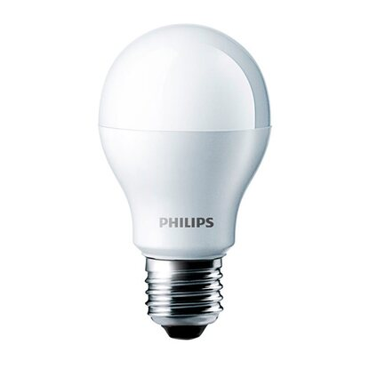Philips LED-Lampe Glühlampenform E27 / 7 W (806 lm) Warmweiß EEK: A