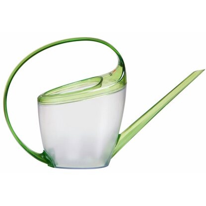 Scheurich Gießkanne Loop Transparent/Green 1,4 l
