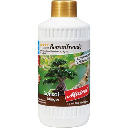Mairol Bonsai-Dünger Liquid 500 ml