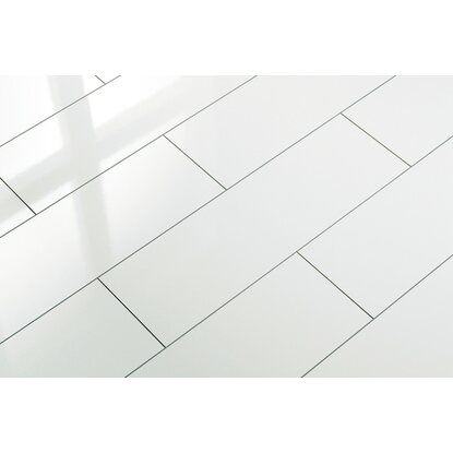 Elesgo Laminatboden Superglanz Color White