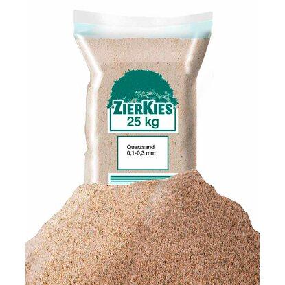 Fugensand Einkehrsand Quarzsand beige 0,3-0,8 mm