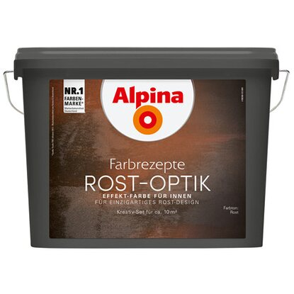 Alpina Farbrezepte Rost-Optik Komplett-Set