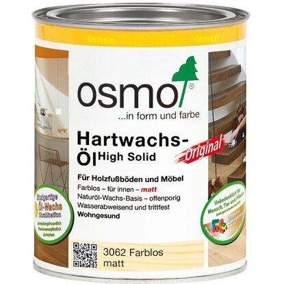 Osmo Hartwachs-Öl Original Transparent Matt 750 ml