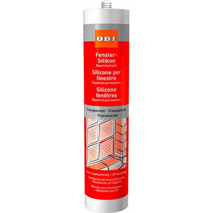 OBI Fenster-Silikon Transparent 310 ml