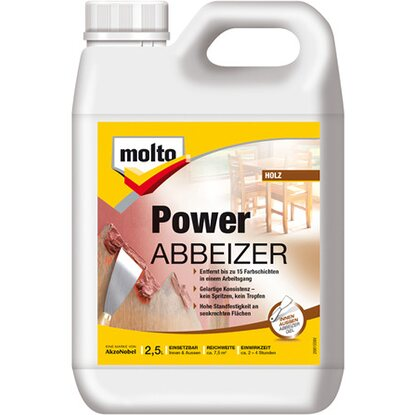 Molto Power Abbeizer Kraftlöser Gel 2,5 l
