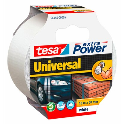 Tesa Extra Power Universal Weiß 10 m x 50 mm
