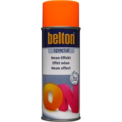 Belton Special Neon-Effekt Spray Orange seidenmatt 400 ml
