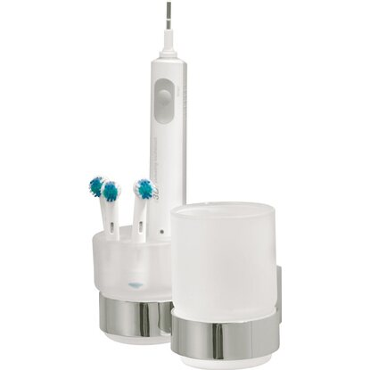 Tiger Dental-Set mit Becher Ontario Chrom