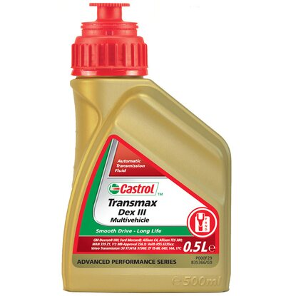 Castrol Transmax Dex III Multivehicle 500 ml