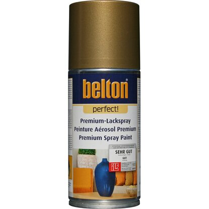 Belton Perfect Premium-Lackspray Gold glänzend 150 ml