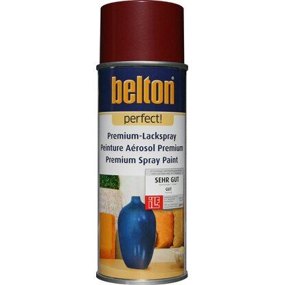 Belton Perfect Premium-Lackspray Dunkelrot seidenmatt 400 ml