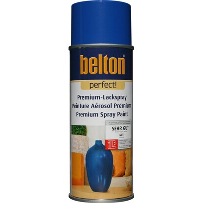 Belton Perfect Premium-Lackspray Dunkelblau seidenmatt 400 ml