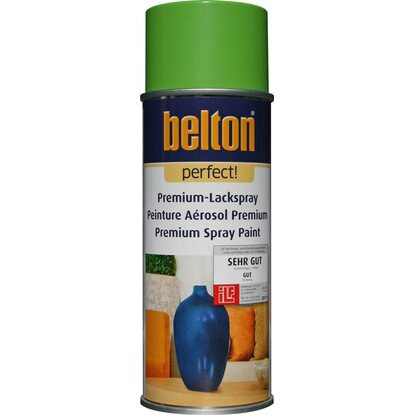 Belton Perfect Premium-Lackspray Hellgrün seidenmatt 400 ml