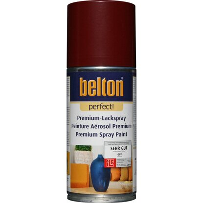 Belton Perfect Premium-Lackspray Dunkelrot seidenmatt 150 ml