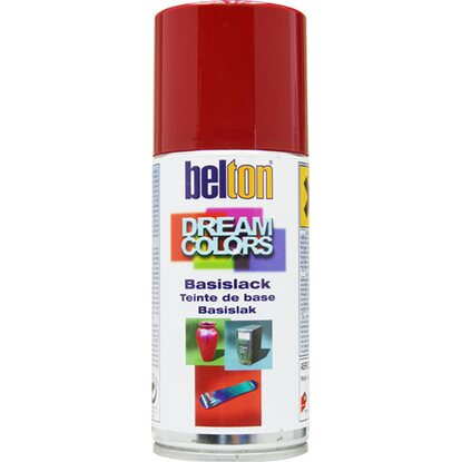 Belton Dream Colors Basislack Spray Rot glänzend 150 ml