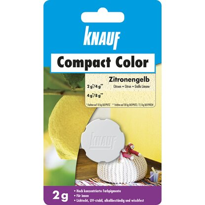 Knauf Compact Color Zitrone 2 g