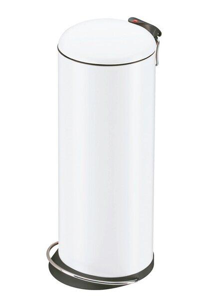 Hailo Tret-Mülleimer Trento Topdesign 26 l weiß