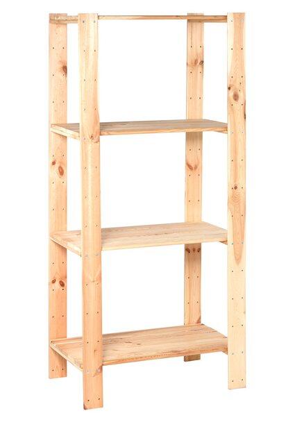 OBI Holz-Schwerlast-Schraubregal 174 x 80 x 50 cm