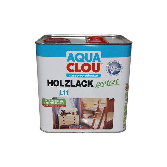 aqua clou holzlack protect transparent seidengl nzend 2 5 l kaufen bei obi. Black Bedroom Furniture Sets. Home Design Ideas