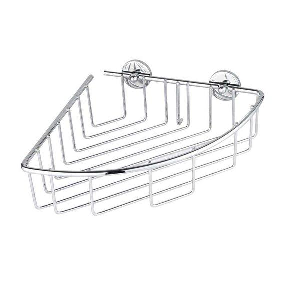 nie wieder bohren eckablagekorb baath plus bt110p verchromt im obi online shop. Black Bedroom Furniture Sets. Home Design Ideas