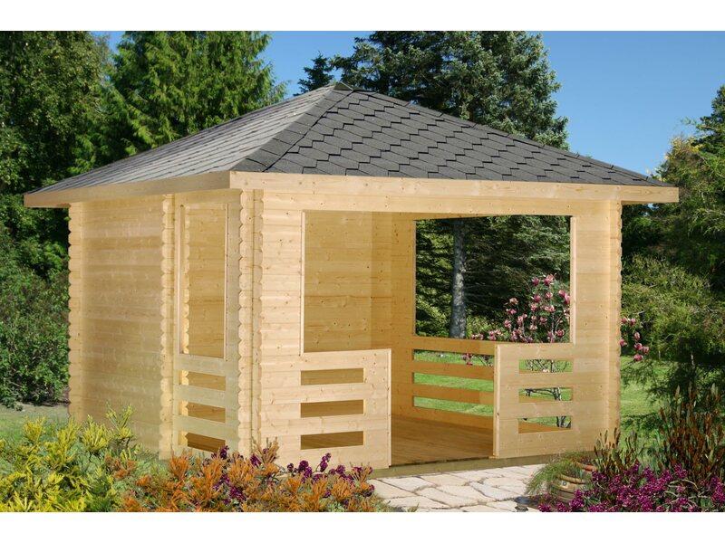Palmako Holz Pavillon Julie 217 Cm X 330 Cm X 330 Cm