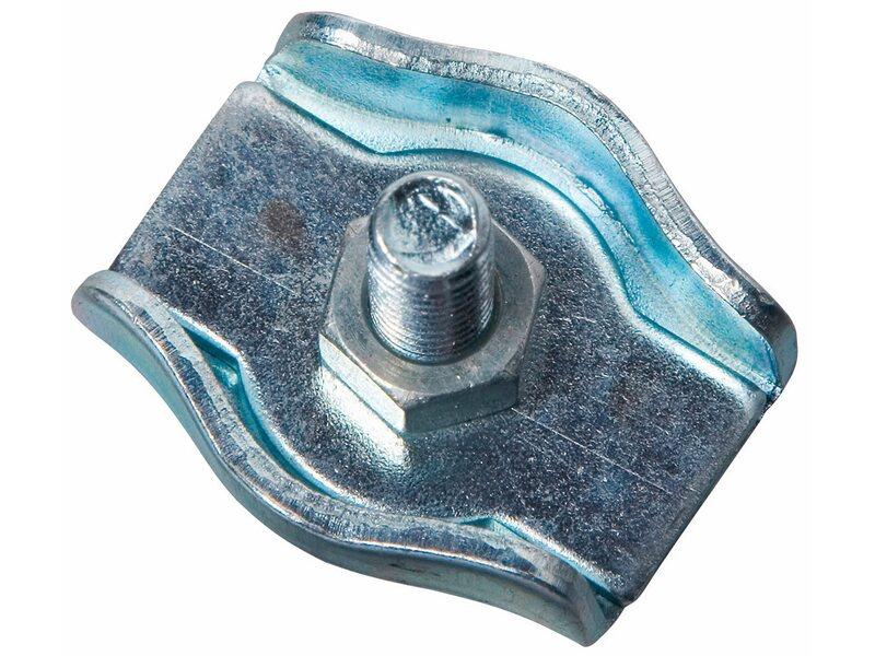 LUX Simplexklemme Verzinkt 4 mm - 6 mm kaufen bei OBI