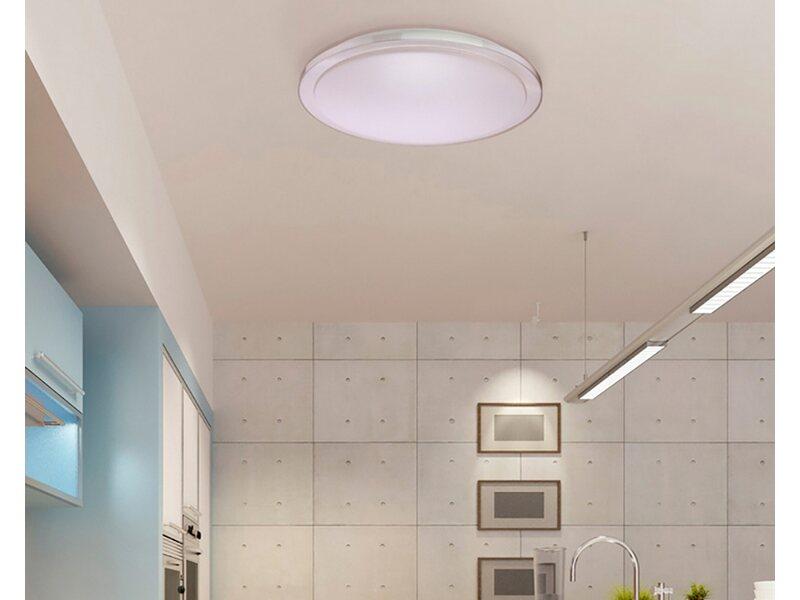 LED Deckenleuchte Forma 1 flammig 50 W Weiß EEK: A A++
